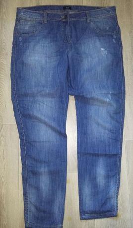 F&F-przecierane jeansy roz.44/46