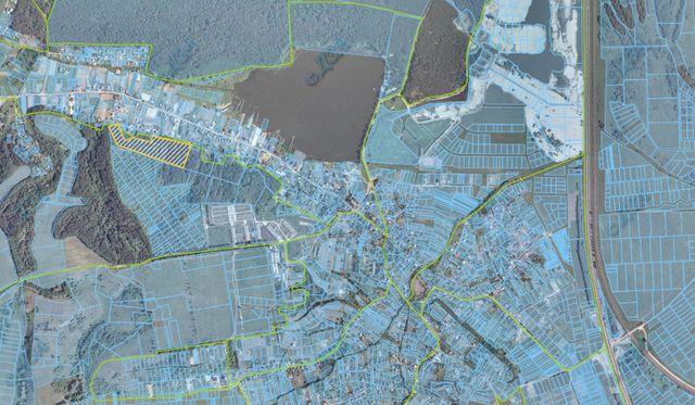 Участок под строительство коттеджного городка, коттеджи