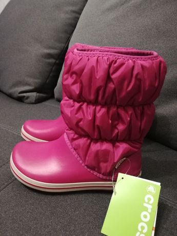 Сапоги крокс crocs Winter Puff Boot.Оригинал. Дутики крокс зима