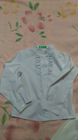 Школьная блуза рубашка гольф футболка