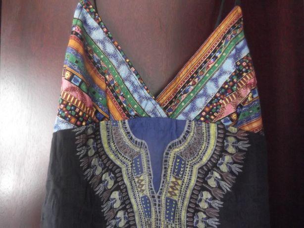sukienka damska, etniczna krótka, bawełna rozmiar XS orient,