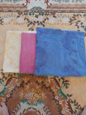 Махровые полотенца б/у цена за 3 шт