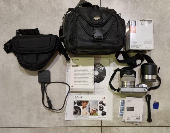 Aparat fotograficzny Sony Alfa Nex F3 + SEL f1.8 50mm