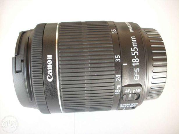 Objectiva Canon EF-S 18-55 STM - COMO NOVA - Oferta de para-sol