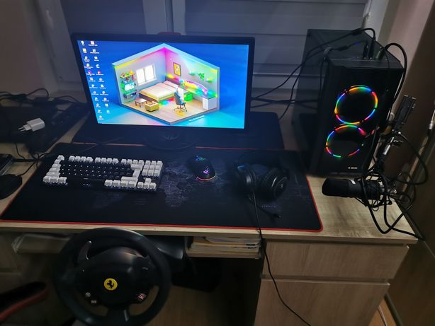 Komputer gamingowy cały zestaw gracza, okazja. Zamiana na crosa.