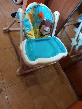 krzesełko do karmienia Fisher price