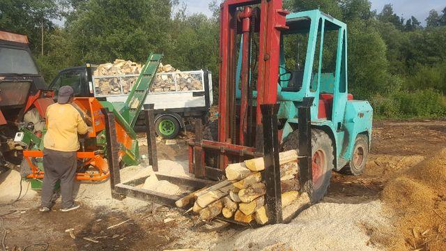Drewno świerkowe na opał / opałowe