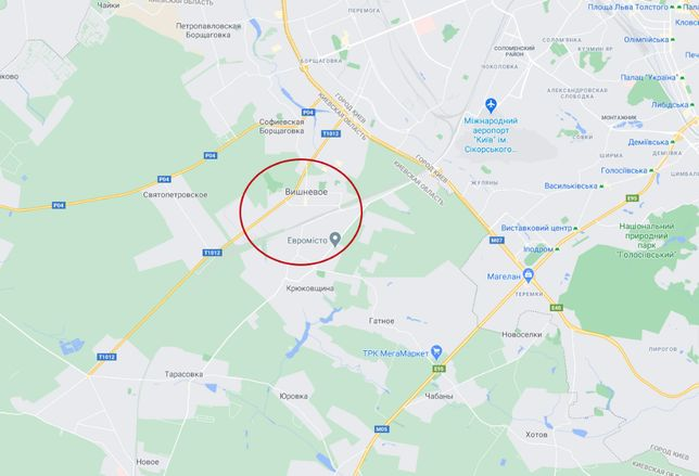 г. Вишневое, земельный участок, 1.45га, фасадный заезд