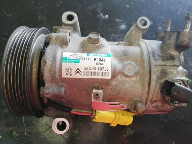 Compressor Ar Condicionado Peugeot / Citroen Ref: Sanden