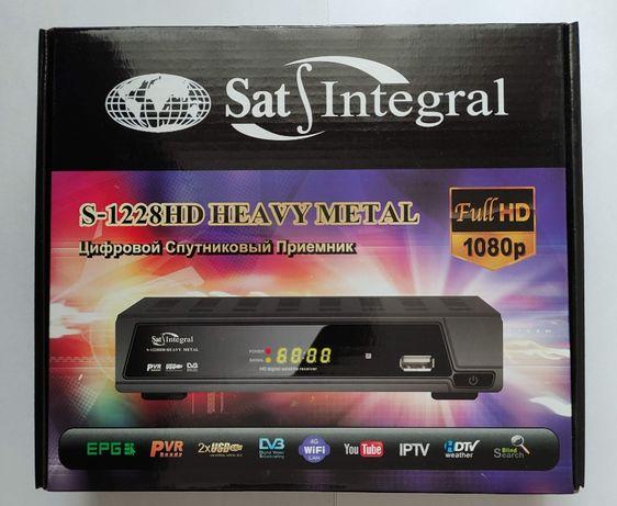 Спутниковый тюнер (ресивер) sat integral s-1228 hd прошит+ wi-fi адап