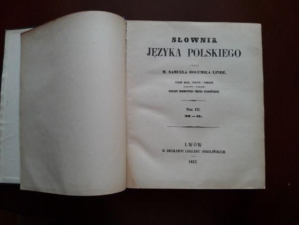 słownik języka polskiego b.linde