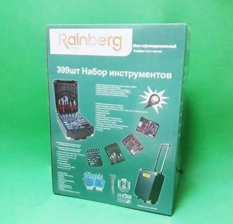 В чемодане - 399 шт - набор мужской / Инструменты - RB 0001 / ящики /