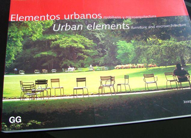 Elementos urbanos: mobiliário e microarquitectura
