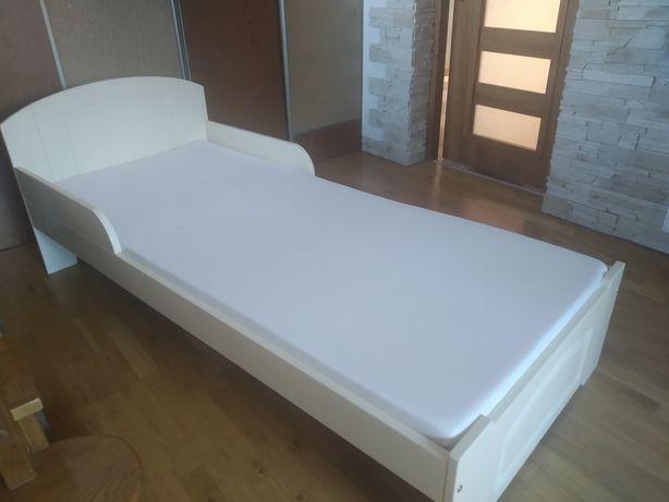 Łóżko z materacem 180x80 jak nowe + gratis