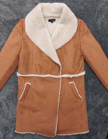 Комфортная дубленка пальто tally weijl
