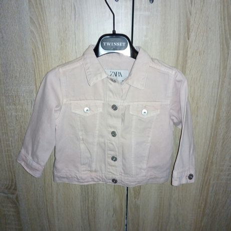 Нова!!! Джинсова куртка девочка Zara 9-12