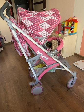 Прогулочная коляска тросточка BabyHit Rainbow