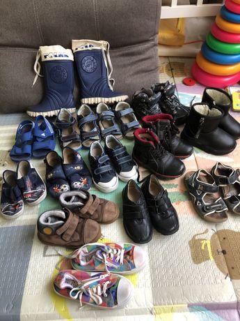 Обувь пакет на мальчика боссоножки кроссовки zara h&m next george