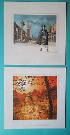 Serigrafias de autores BD franceses