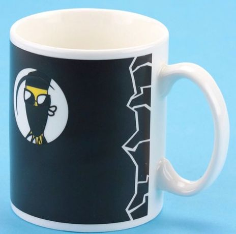 Чашка хамелеон, оригинальная чашка, чашка на подарок