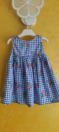 Плаття для дівчинки 9-12 місяців