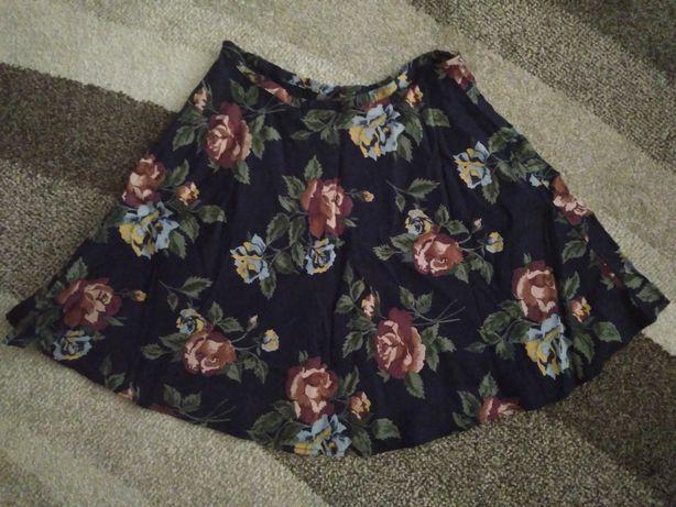 Spódniczka spódnica XS / S kwiaty kwiecista next