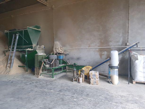 Linia do produkcji pelletu, pelleciarka, granulator