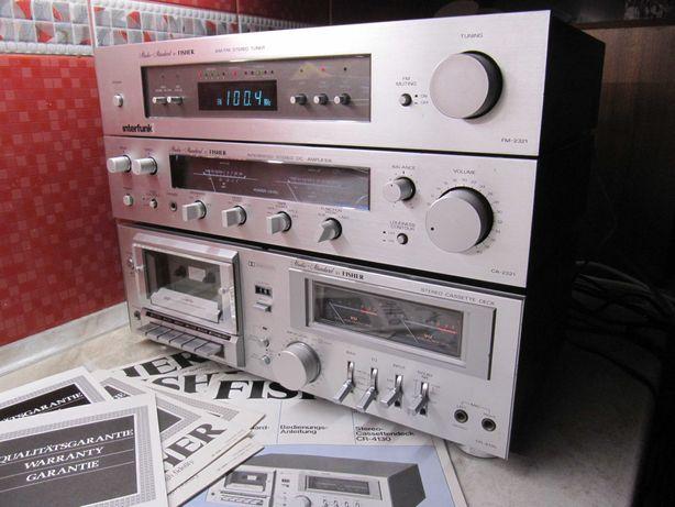 ПОРОДИСТЫЙ Стационарный Музыкальный Центр FISHER Hi-Fi *Silver Vintage