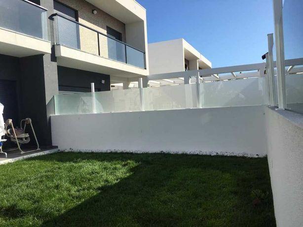 Cortina de vidro, Muro  de Vidro, fechamento em vidro, vidro fixo.