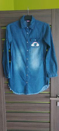 Koszula jeansowa 158 164