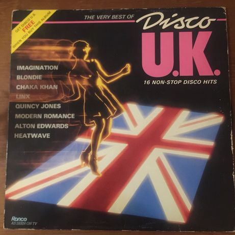 Disco vinil disco UK + disco US