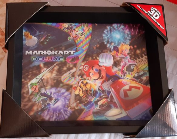 Quadro 3D mario kart 8 - amazing 3D collector's limited edition