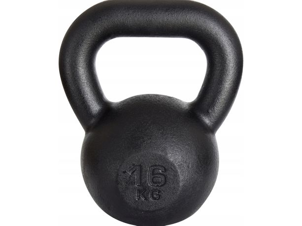 Kettlebell żeliwny RAW 16 kg