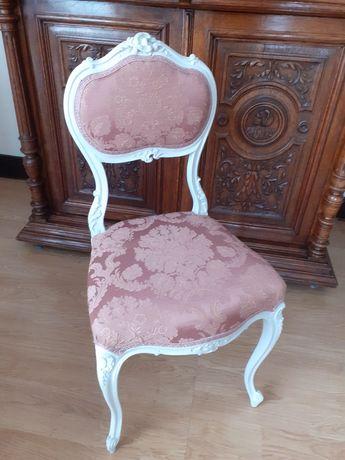 Krzesło ludwikowskie shabby chic