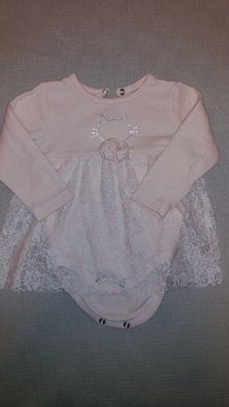 Продам бодик-платье 68 размера