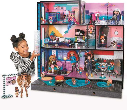 ОРИГИНАЛ дом для кукол ЛОЛ LOL Surprise OMG House модный особняк
