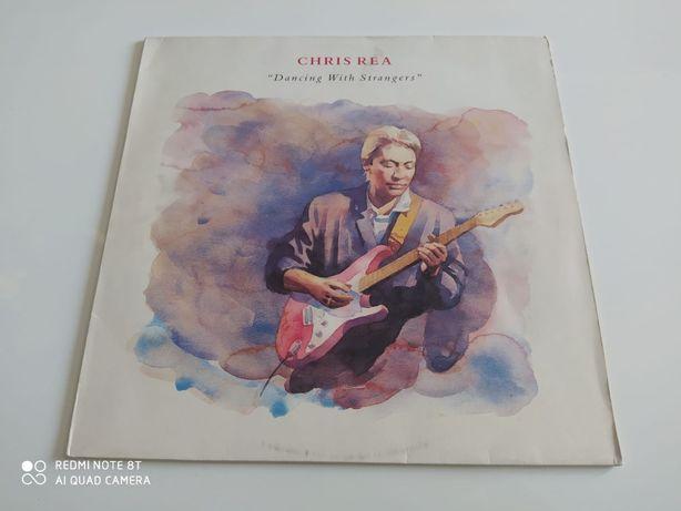 """Płyty winylowe-winyl Chris Rea """"Dancing With Strangers"""" 1987r.Germany"""