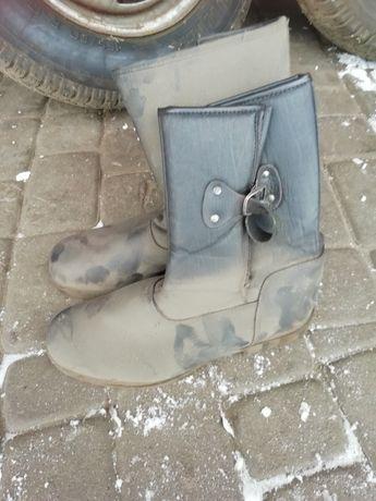 Buty robocze zimowe olejoodporne (butki) rozmiar 45