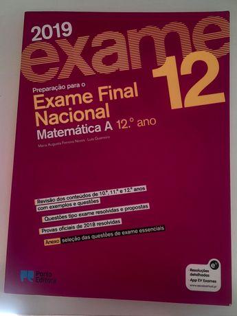 Livro preparação de exame de Matemática A