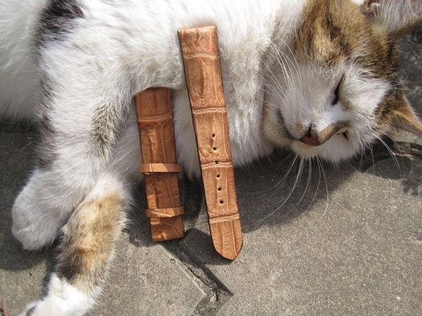 Ремешки для часов, ремешок, из экзотической кожи питон крокодил