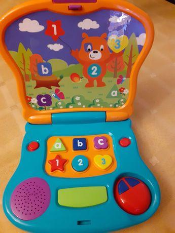 Laptop zabawka s jak nowy
