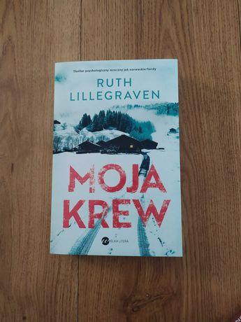 "Sprzedam książkę ""Moja krew"" - Ruth Lillegraven"