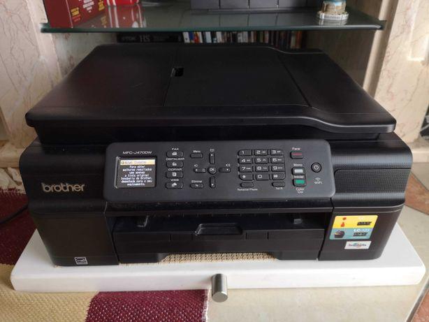 Impressora Brother Multifunções (WI-FI + FAX)
