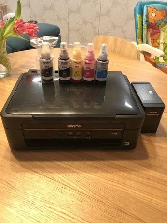 Urzadzenie wielofunkcyjne drukarka skaner kopiarka Epson L382