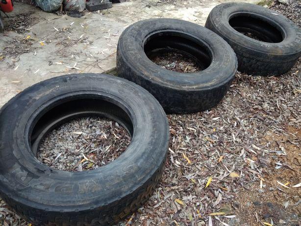 Грузовые шины в нормальном состоянии