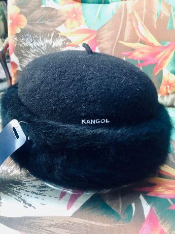 Женская шапка KANGOL . Новая, оригинал ( шерсть/Ангора).