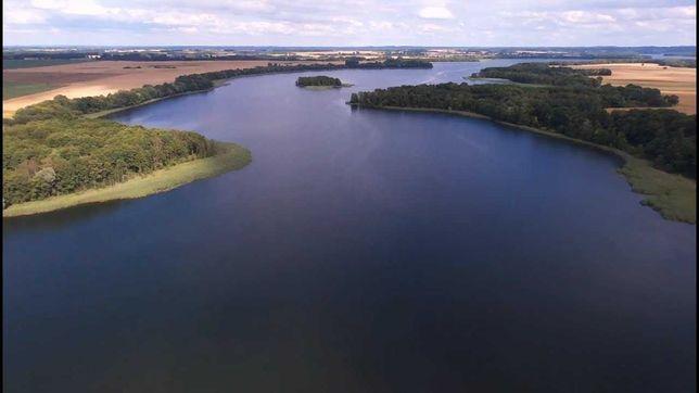 działka rekreacyjna Trzebawie jezioro Woświn 6600m2