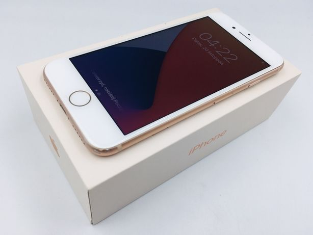 iPhone 8 64GB GOLD • NOWA bateria • GWAR 1 MSC • AppleCentrum