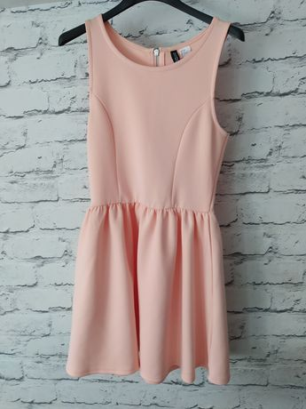 Sukienka rozkloszowana h&m