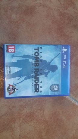 Jogo PS 4 rise of the tomb raider- 20 anos